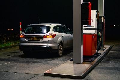 Abastecimento carro flex