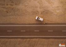 Carro quebrado na estrada