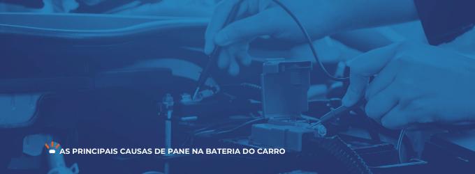 Testando bateria do carro