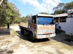 Guincho Plataforma Ford Cargo 815 2005